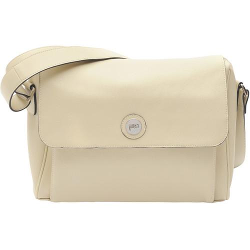 Jill-E Designs Tablet Messenger - Vanilla Leather 373526