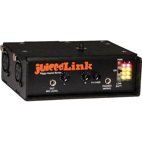 juicedLink RA202 Riggy-Assist Dual-XLR Preamplifier RA202