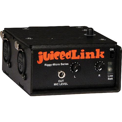 juicedLink RM202 Riggy-Micro Dual-XLR Preamplifier RM202