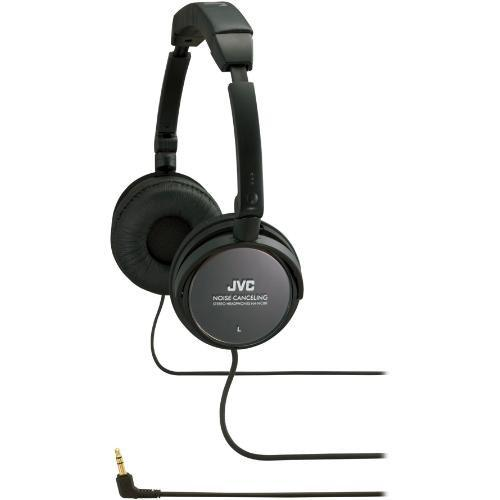 JVC HA-NC80 On-Ear Noise Cancelling Stereo Headphones HA-NC80