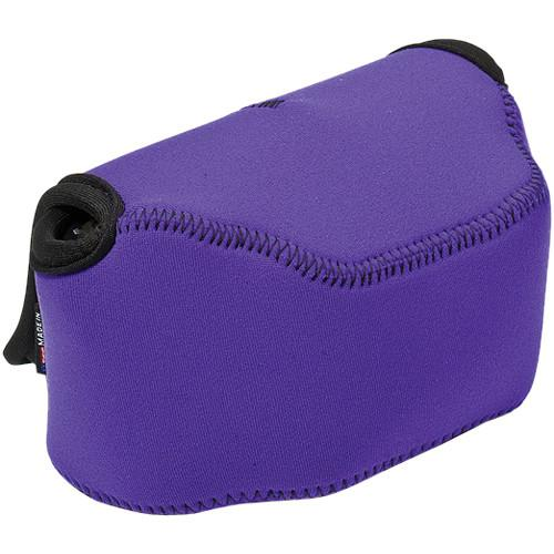 LensCoat BodyBag Point and Shoot Large Zoom (Purple) LCBBLZPU