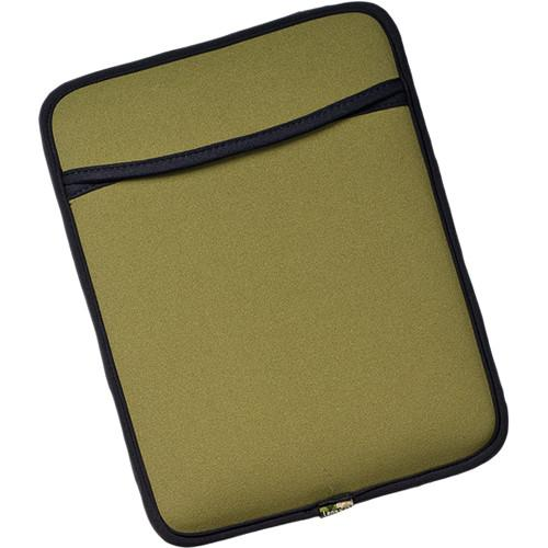 LensCoat iPad and iPad 2 Neoprene Sleeve (Green) LCIPLG