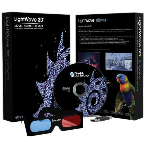 Lightwave by NewTek LightWave 3D 11 Full Version LW040000-0110