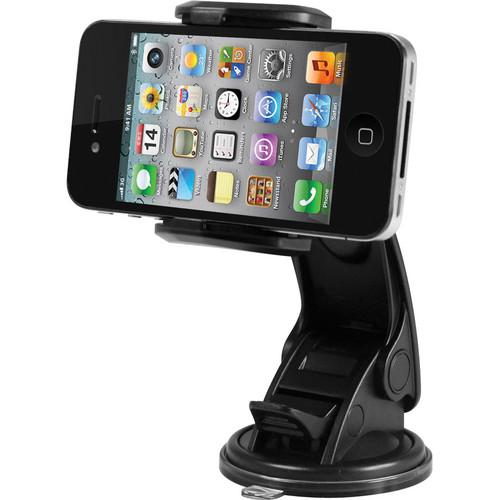 Macally Suction Cup Mount for Smartphones, iPhone, iPod, MGRIP2