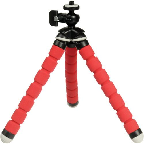 Magnus  TinyGrip Flexible Tripod (Red) TB-100R