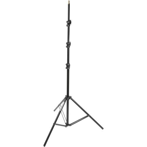 Manfrotto 368B Basic Black Light Stand - 11' (3.3m) 368B