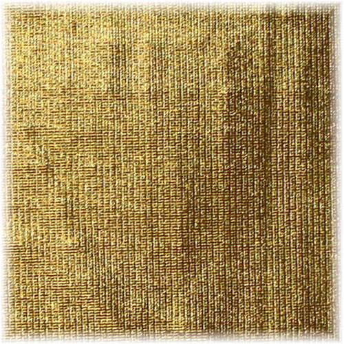 Matthews RoadFlag Fabric, Gold Lame- 48x48