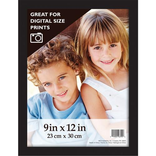 MCS Gallery Wood Frame (Black - 9x12