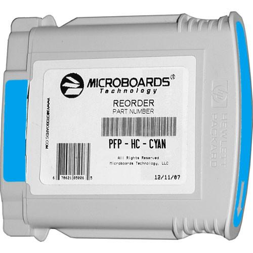 Microboards Cyan Ink Cartridge for Microboards MX1, PFP-HC-CYAN