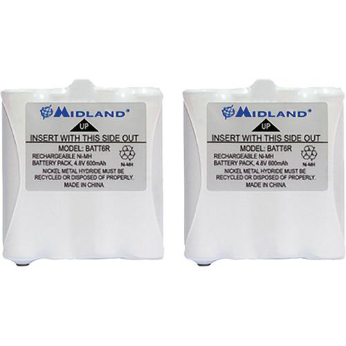 Midland AVP8 Rechargeable NiMH Battery Packs for CXT, LXT AVP8