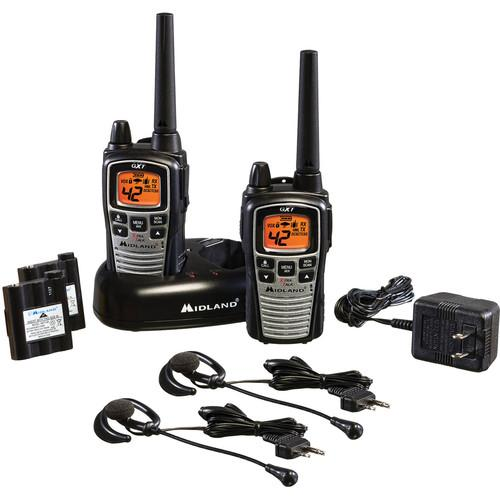 Midland GXT860VP4 42-Channel GMRS Radios with NOAA GXT860VP4