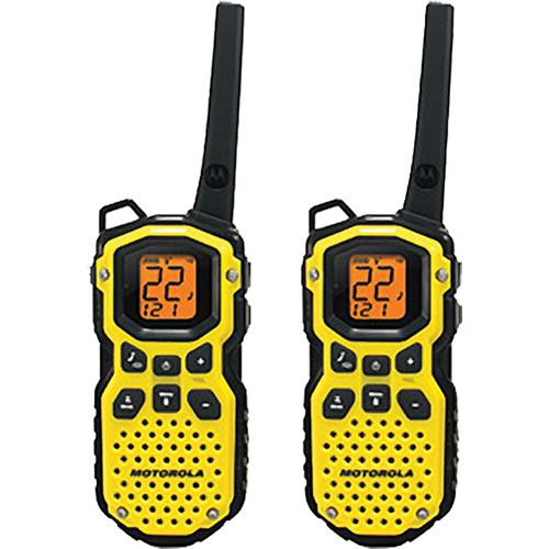 Motorola Talkabout MS350R 2-Way Radio Pair (Yellow) MS-350R