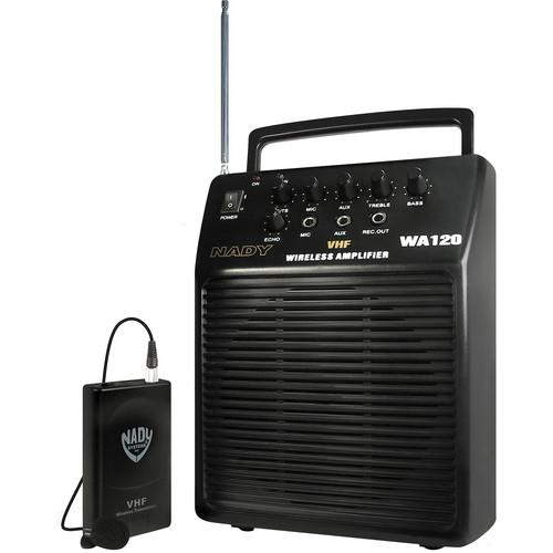 Nady WA-120 Portable Wireless PA System WA 120 LT/E