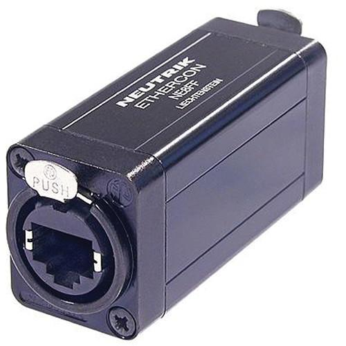 Neutrik etherCON RJ45 Feed-Through Coupler for Cable NE8FF