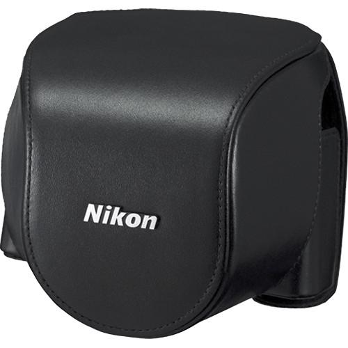 Nikon CB-N4000A Leather Body Case Set For Nikon 1 V2 Camera 3716