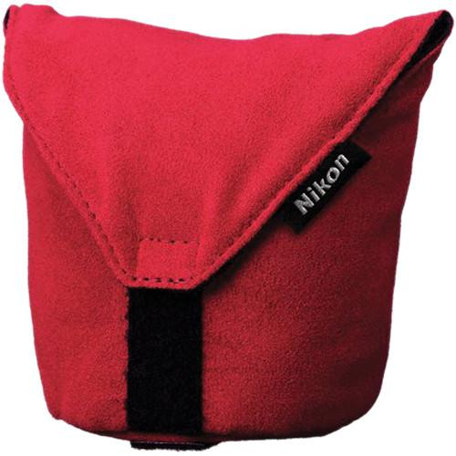 Nikon  CL-N101 Soft Lens Case (Red) 3674