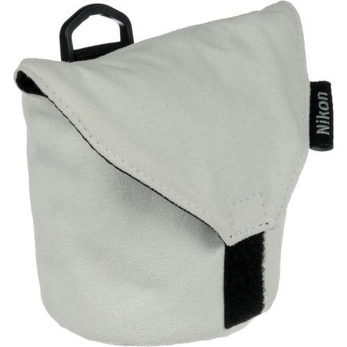 Nikon  CL-N101 Soft Lens Case (White) 3673