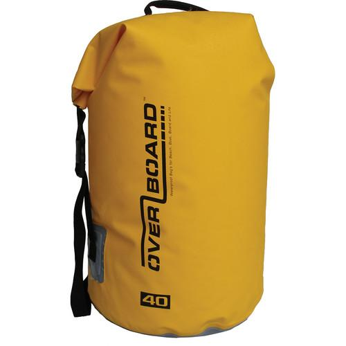 OverBoard Waterproof Dry Tube Bag (Yellow, 40L) OB1007Y