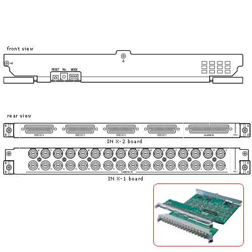 Panasonic WJ-PB65C32 Video Input Board for WJ-SX650 WJ-PB65C32