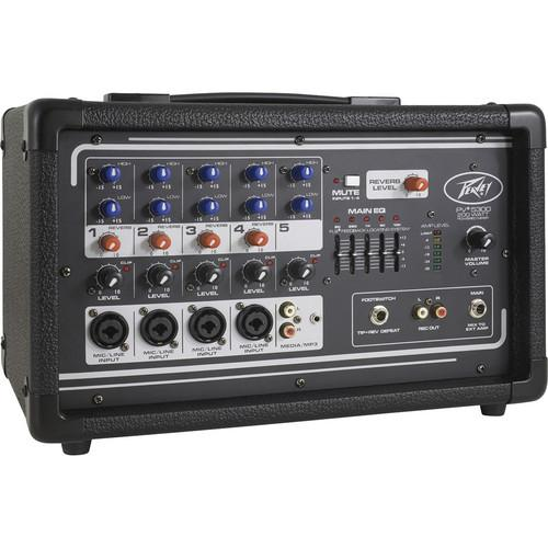 Peavey PV 5300 - Five Channel, 200 Watt Powered Mixer 03601820