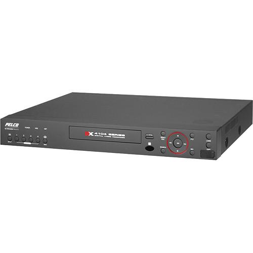 Pelco DX4104 4-CH 1TB Digital Video Recorder DX4104-1000