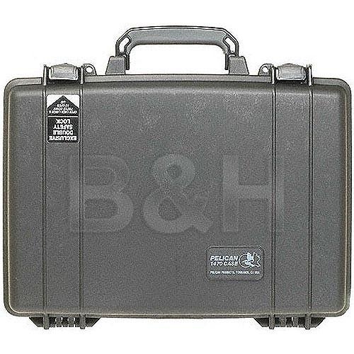 Pelican 1470NF Computer Case without Foam (Black) 1470-001-110