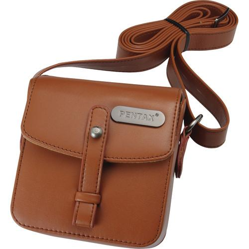 Pentax Q Vintage Leatherette Shoulder Bag (Brown) 85234