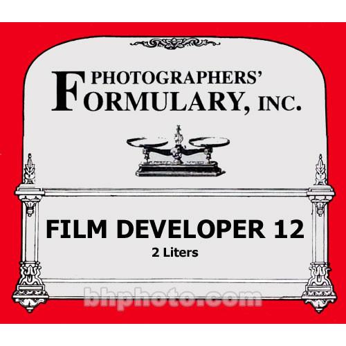 Photographers' Formulary #12 Developer for Black & 01-0211