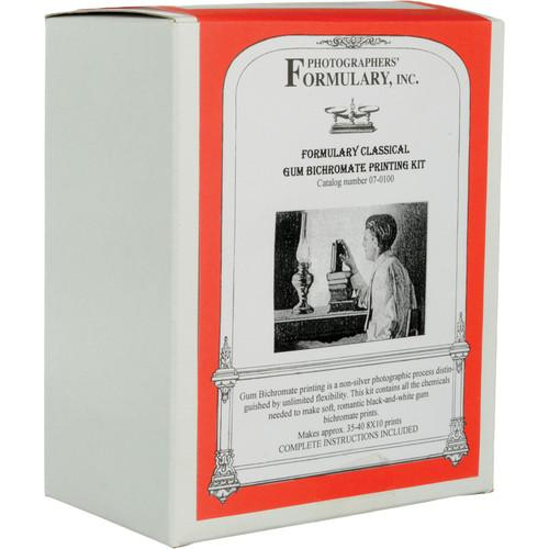 Photographers' Formulary Classical Gum Printing Kit - 07-0100