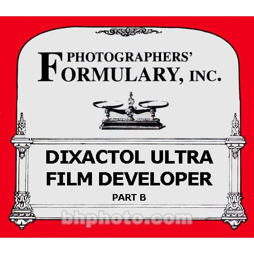 Photographers' Formulary DiXactol - Solution B (ONLY) 01-5031