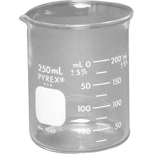 Photographers' Formulary Glass Beaker - 250ml 09-0089