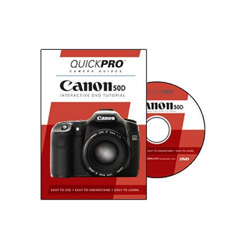 QuickPro  DVD: Canon EOS 50D Tutorial 1277