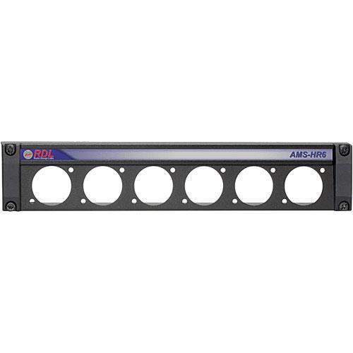 RDL AMS-HR6 Mounting Panel for AMS Accessories AMS-HR6