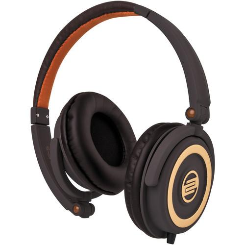 Reloop RHP-5 Chocolate Crown DJ Headphones w/ RHP-5-CHOCOLATE