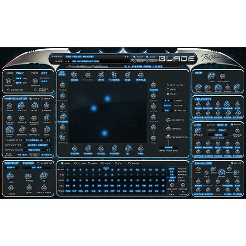 Rob Papen Blade - Virtual Synthesizer TSPAPEN115SN
