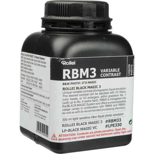 Rollei Maco Black Magic Liquid Emulsion, Variable Contrast 66152