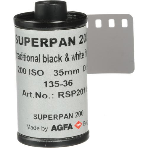 Rollei Superpan 200 Black and White Negative Film 42440121