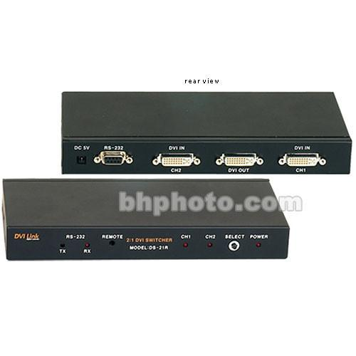 RTcom USA  DS-21R 2:1 DVI Switcher DS-21R
