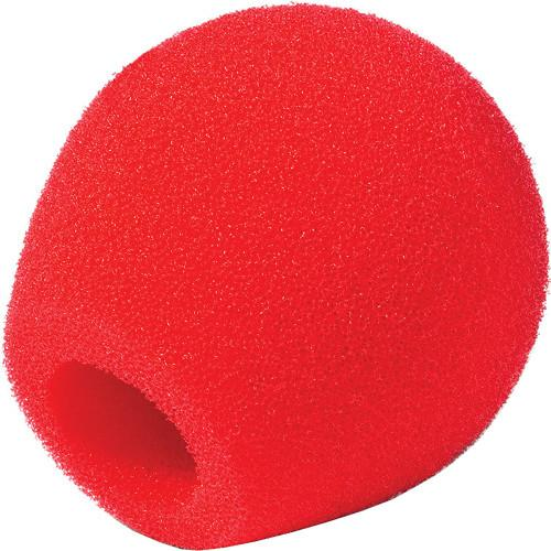 Rycote 18/32 Small Diaphragm Mic Foam [Red] (10-Pack) 103119