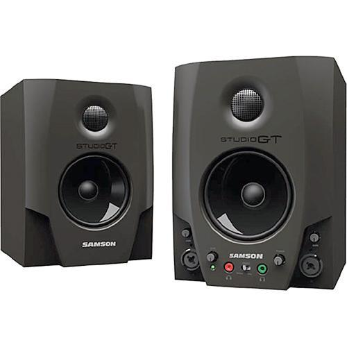Samson Studio GT Active Nearfield USB Studio Monitors SASGT4