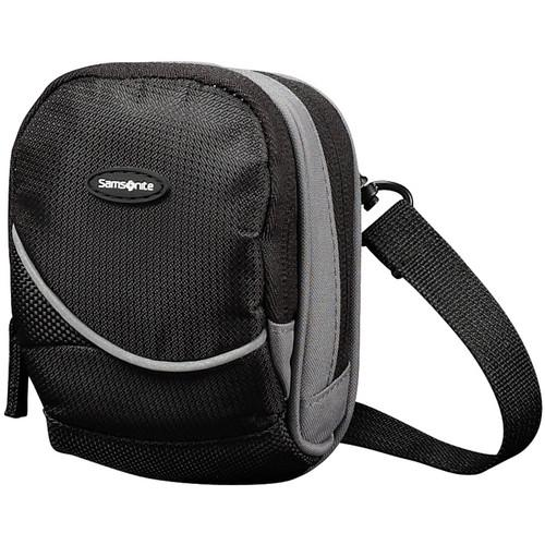 Samsonite Small Round Camera Bag (Black and Gray) 46587-1062