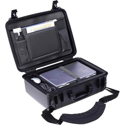 Seahorse 720CC Laptop Case with Lid Organizer and SEPC-720CCBK