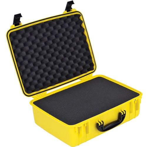 Seahorse 720F Laptop Computer Case With Cubed Foam SEPC-720FYL
