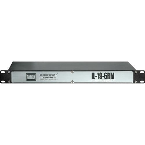 Sescom IL-19-6RM 6-Channel In-Line Isolation Hum IL-19-6RM