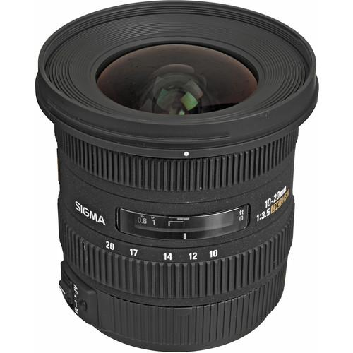 Sigma 10-20mm f/3.5 EX DC HSM Autofocus Zoom Lens For Canon