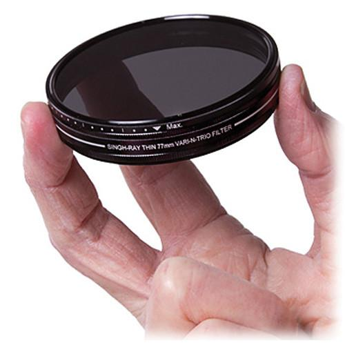 Singh-Ray 77mm Vari-N-Trio Variable ND Filter RT88