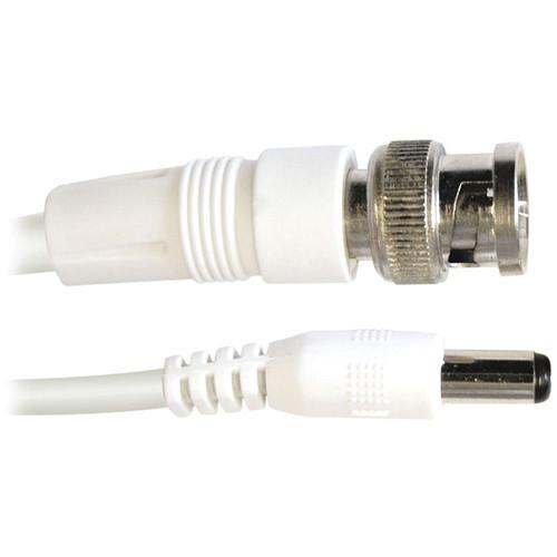 White Swann SWADS-15MBNC-GL  Swann Video and 50-Feet  Power BNC Cable  for CCTV Camera