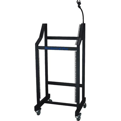 Technical Pro RMS-16U Rolling Mixer/Equipment Rack RMS-16U