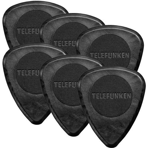 Telefunken Circle Grip 2mm Delrin Guitar Picks 2MM CIRCLE