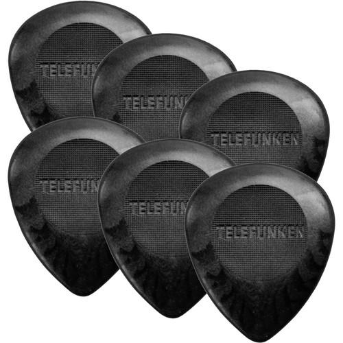 Telefunken Circle Grip 3mm Delrin Picks for Bass and 3MM BASS